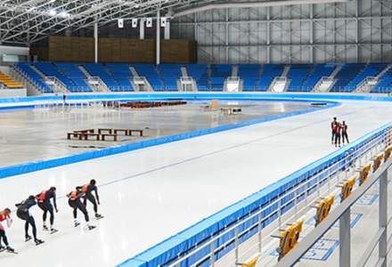 2018 le stade olympique de patinage 1