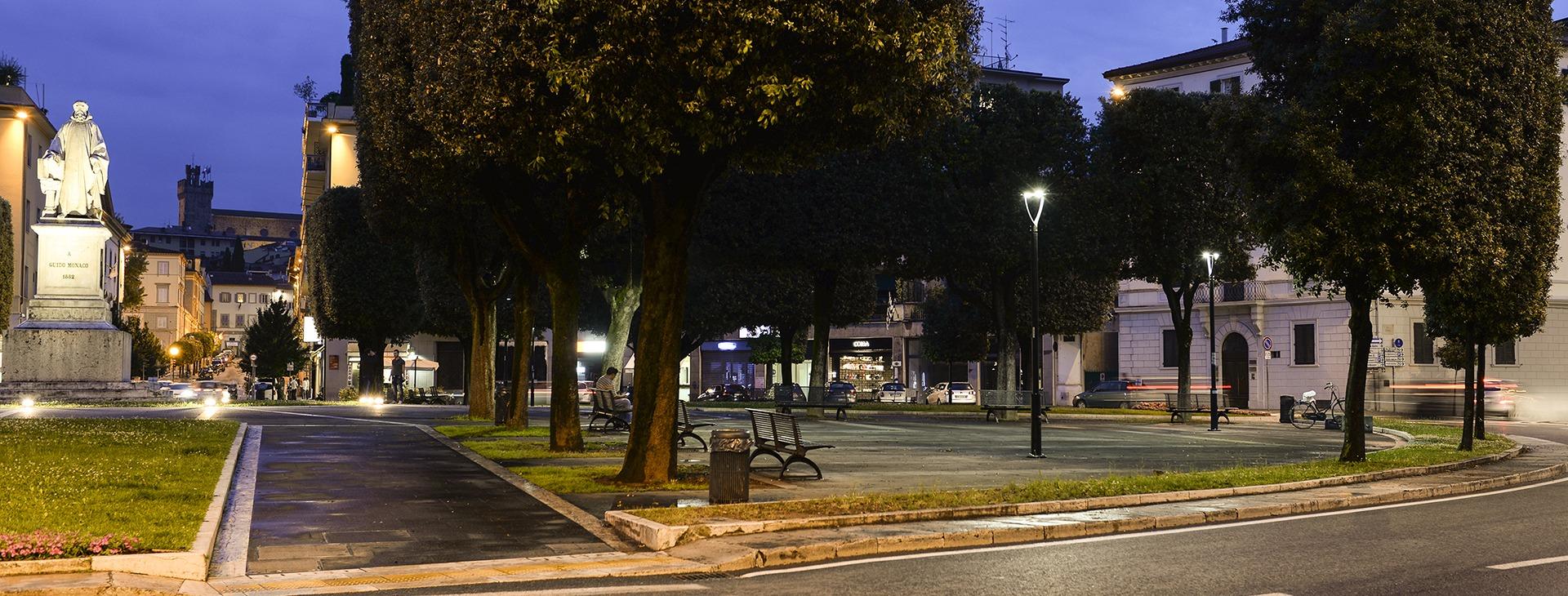 MILANO lampadaire led routiers et urbains